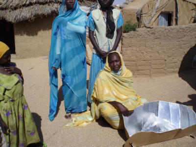 Andres hopes the Solar Cookers Project will �empower the women of Darfur and help them recover from the atrocities they have endured.�