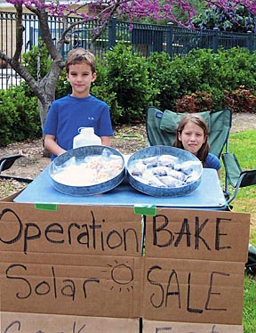 Operation Solar Bake Sale